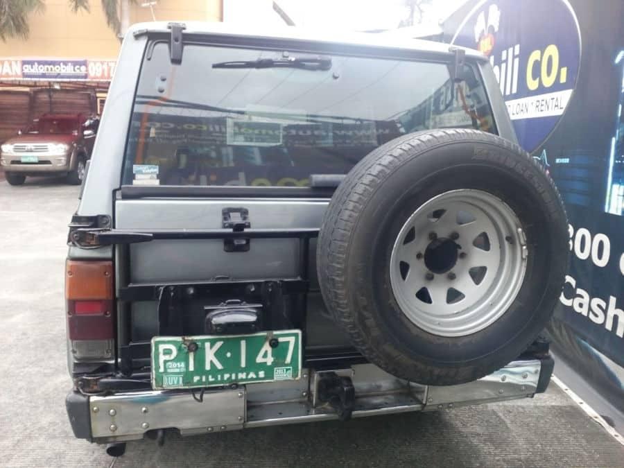 1991 Nissan Patrol - Rear View