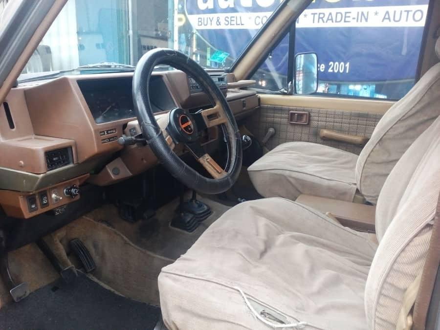 1991 Nissan Patrol - Interior Front View