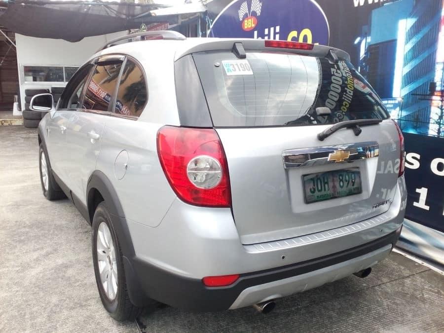 2011 Chevrolet Captiva - Rear View