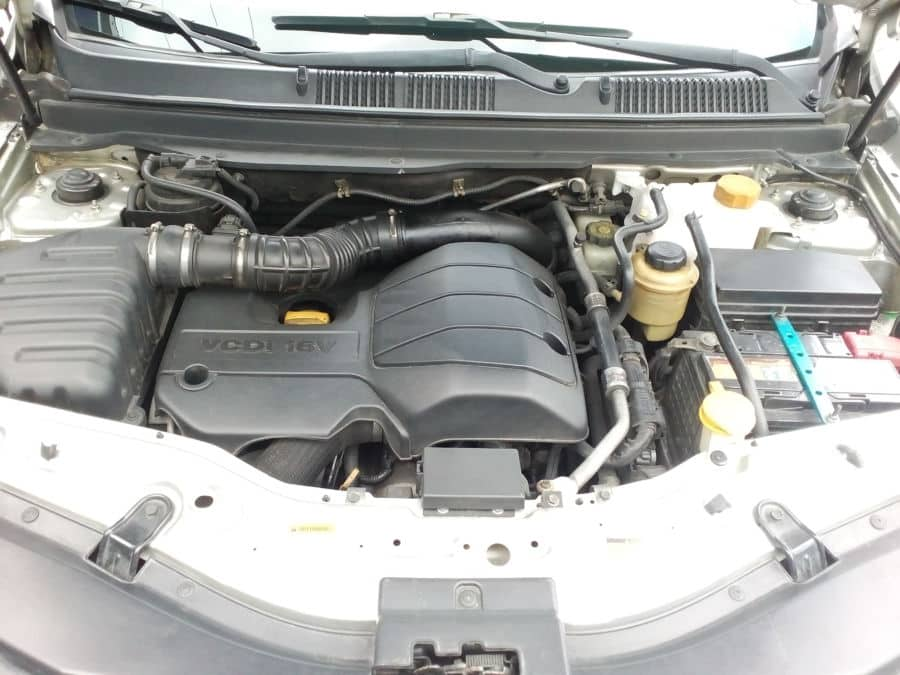 2011 Chevrolet Captiva - Interior Rear View