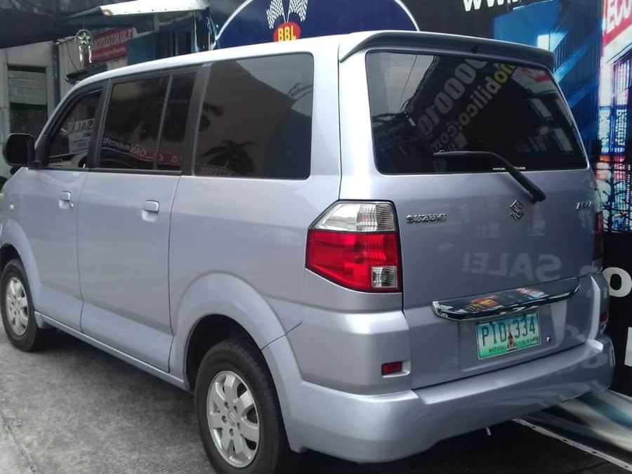 2010 Suzuki APV - Rear View