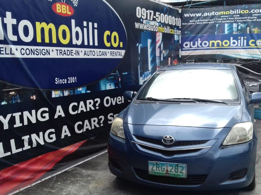 2008 Toyota Vios - Front View