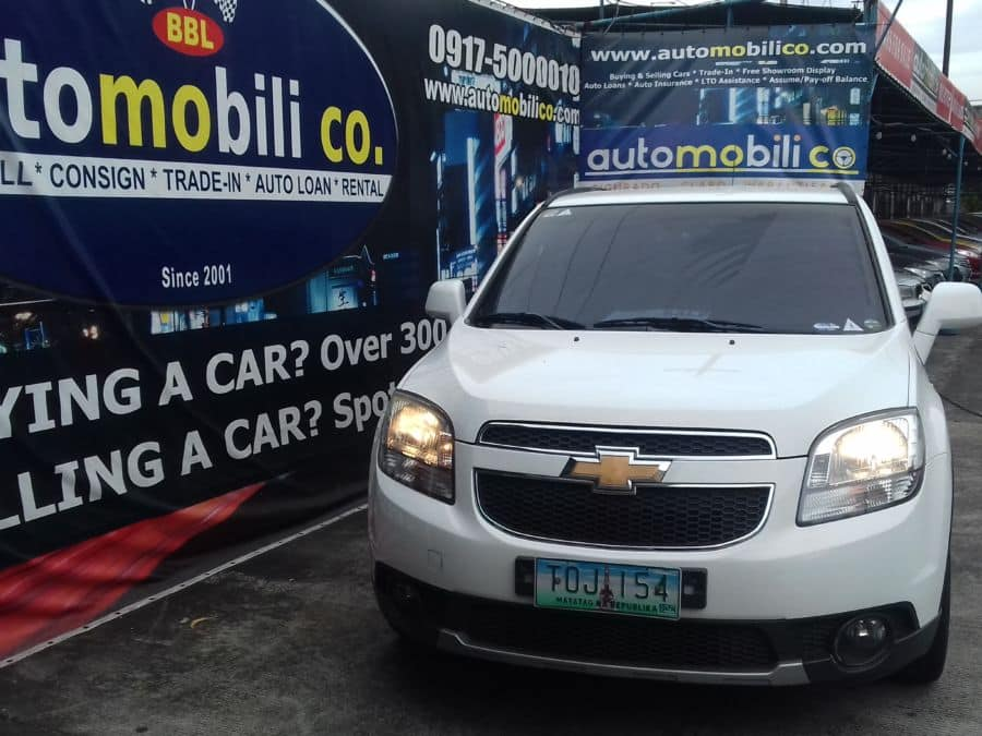 2012 Chevrolet Orlando - Front View
