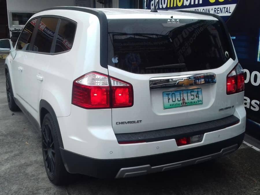 2012 Chevrolet Orlando - Rear View