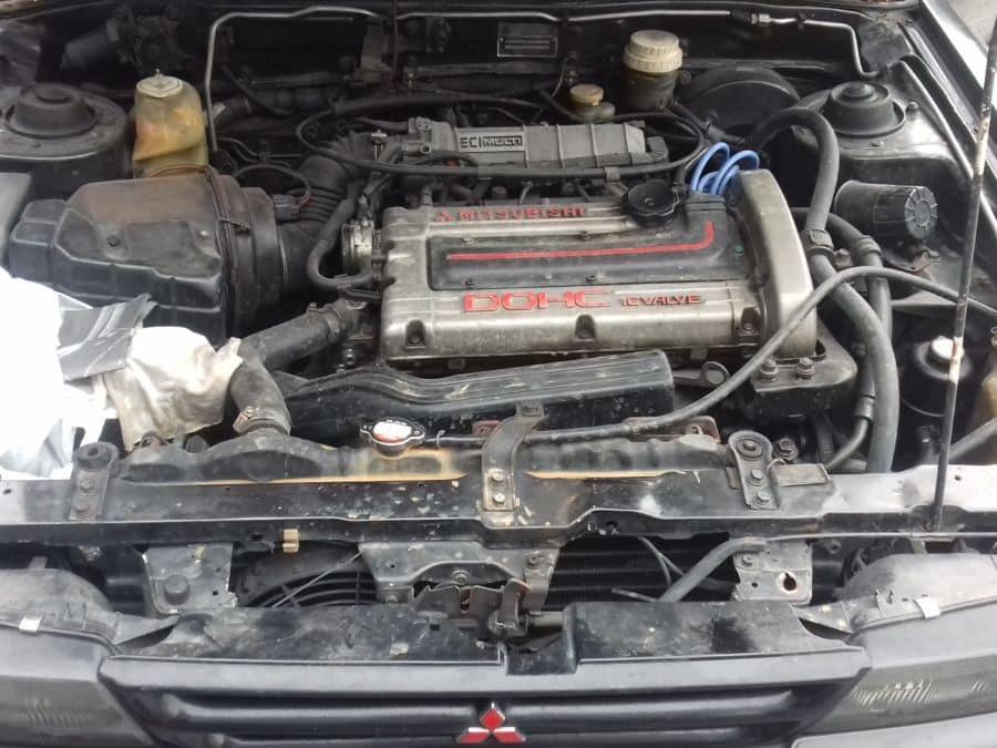 1992 Mitsubishi Galant - Interior Rear View