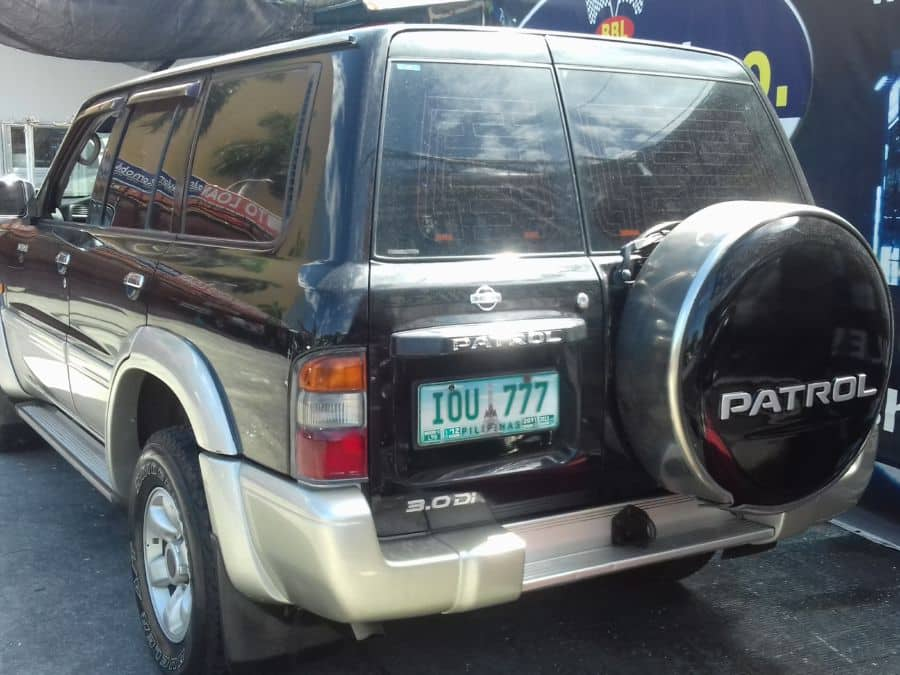 2002 Nissan Patrol - Rear View