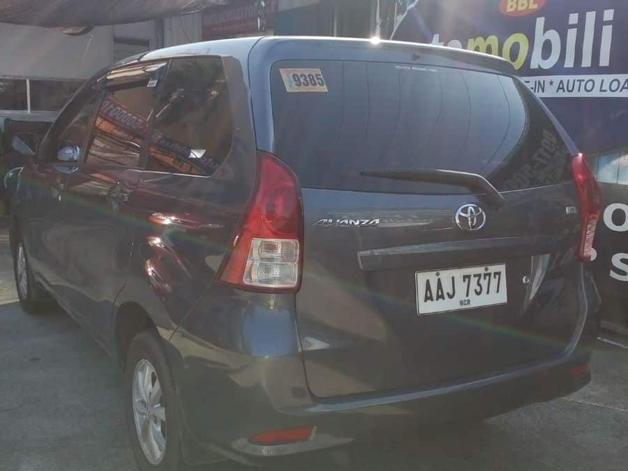 2014 Toyota Avanza - Rear View