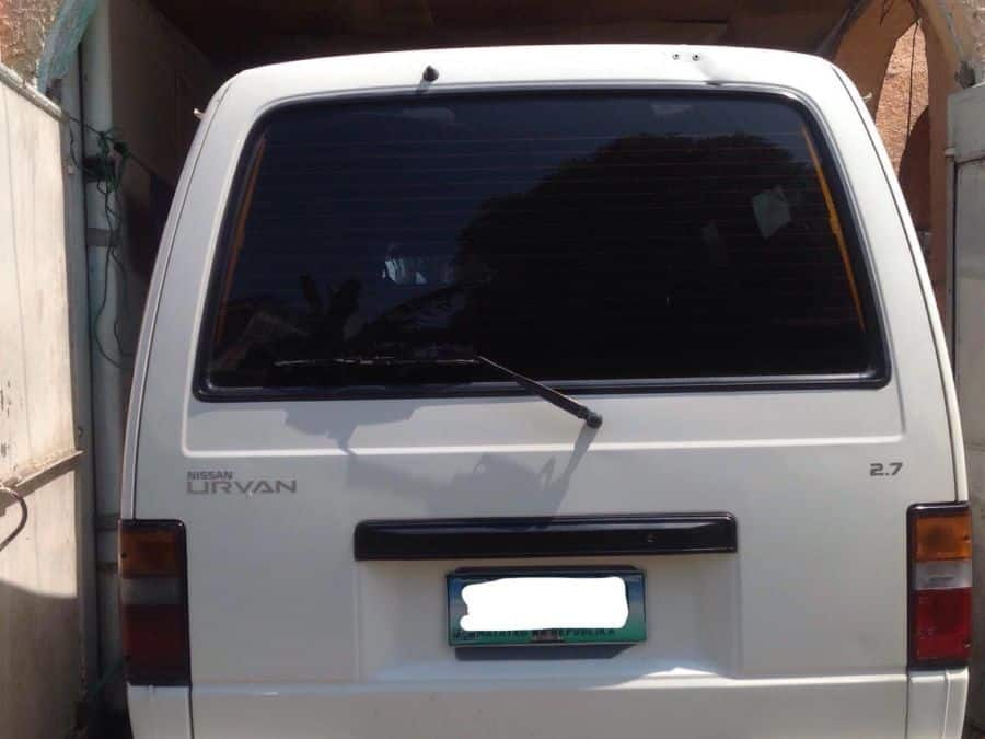 2011 Nissan Urvan - Rear View
