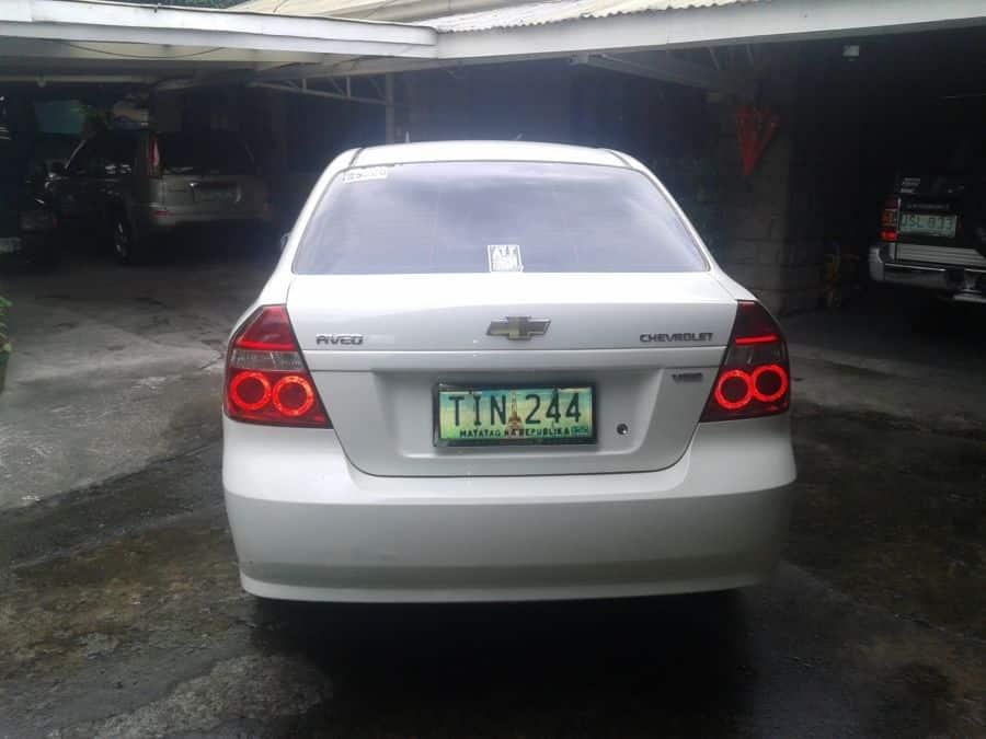 2012 Chevrolet Aveo - Rear View