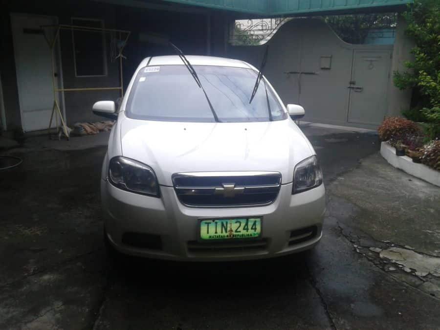 2012 Chevrolet Aveo - Front View