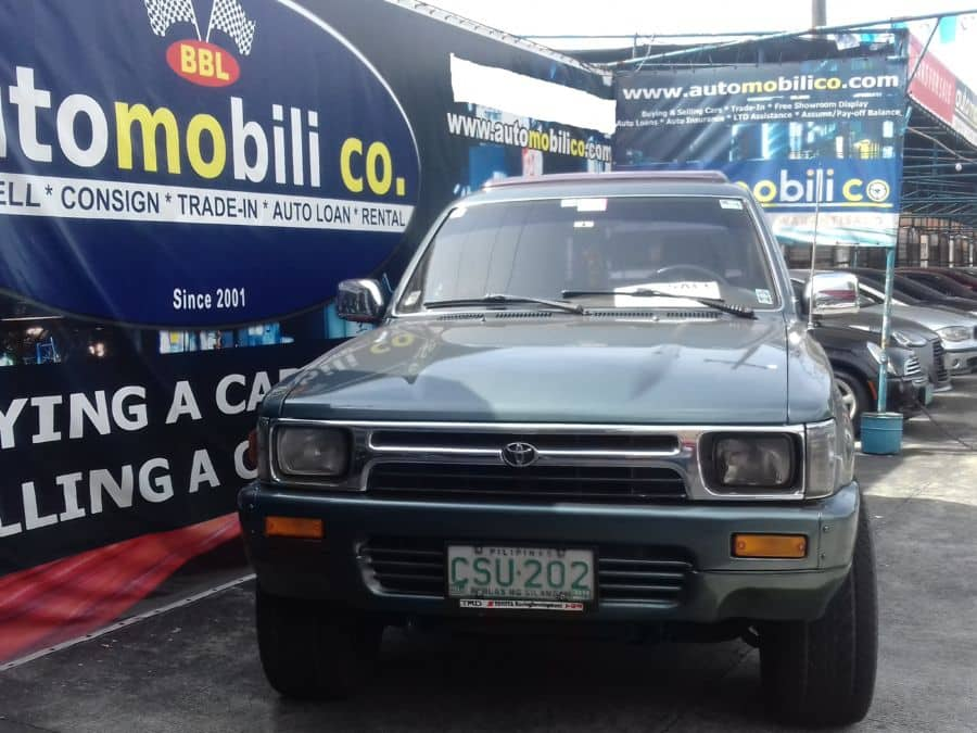 1991 Toyota Hilux - Front View