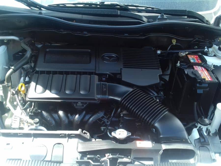 2015 Mazda 2 - Interior Rear View