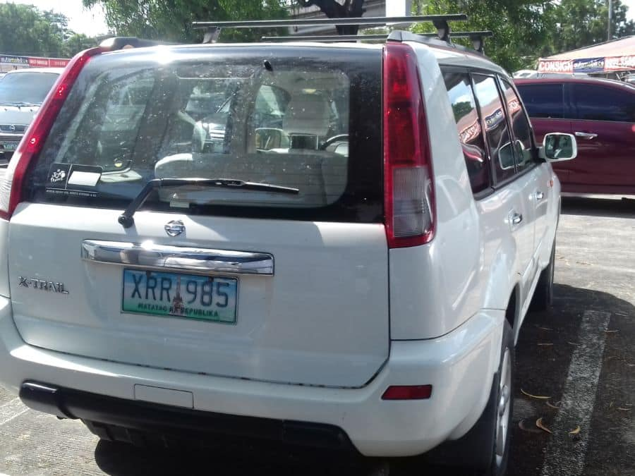 2004 Nissan X-Trail - Rear View