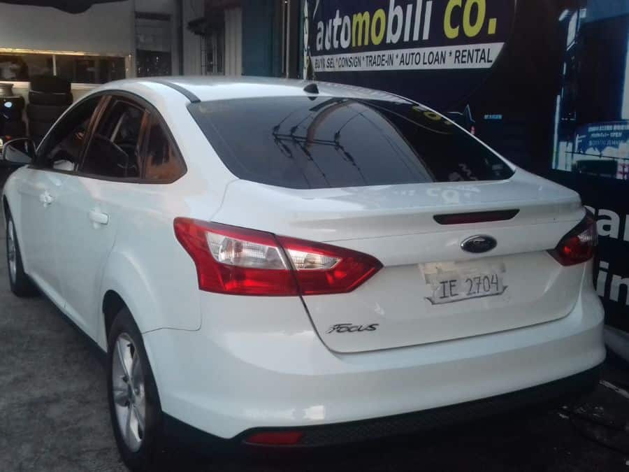 2013 Ford Focus - Rear View