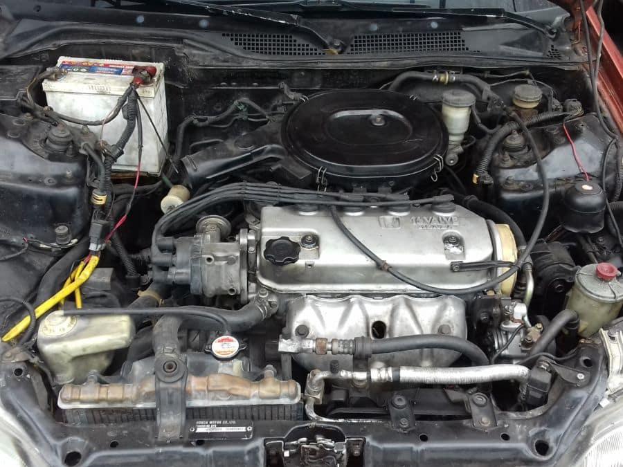 1994 Honda Civic - Interior Rear View