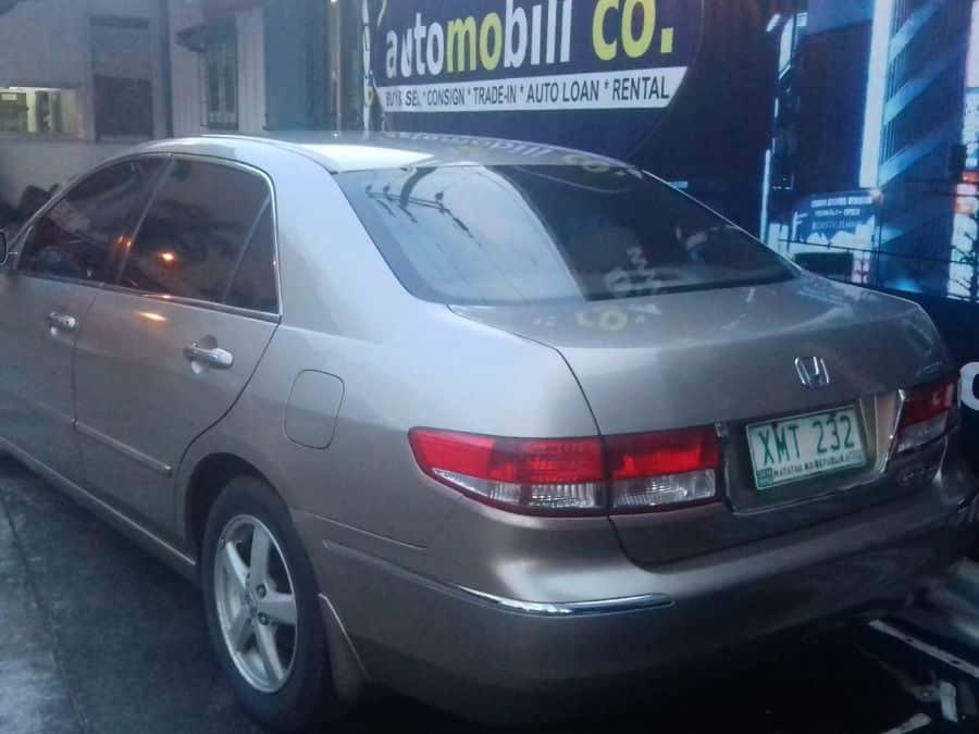 2005 Honda Accord - Rear View
