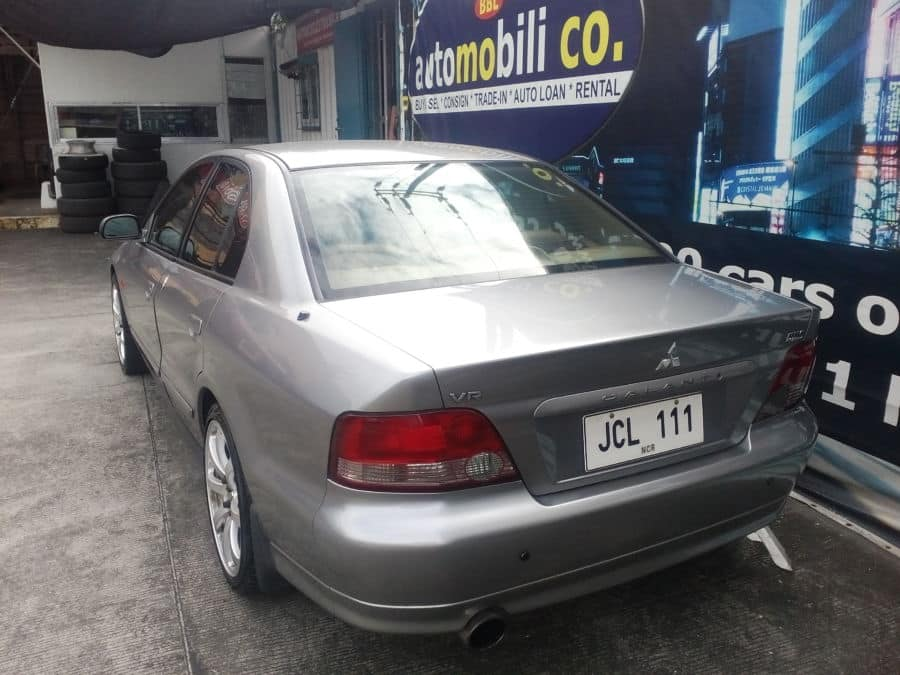 1998 Mitsubishi Galant - Rear View