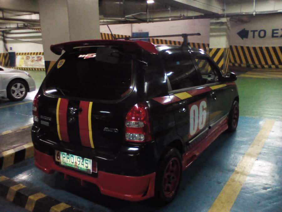 2010 Suzuki Alto - Rear View