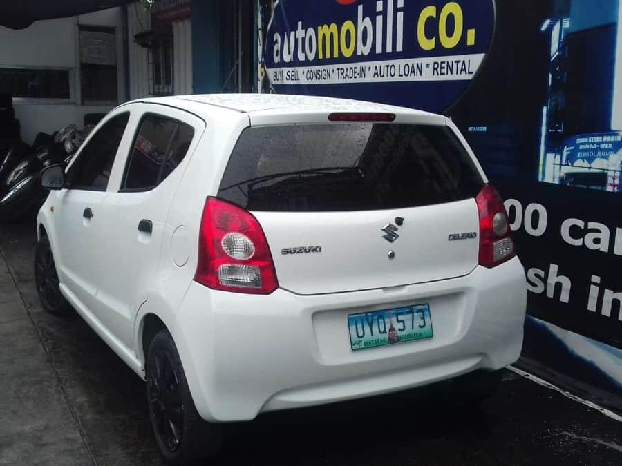 2013 Suzuki Celerio - Rear View