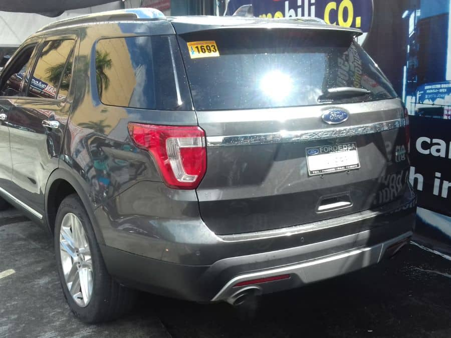 2015 Ford Explorer - Rear View