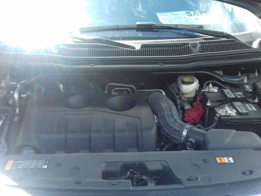 2015 Ford Explorer - Interior Rear View