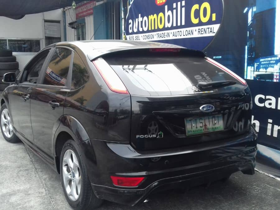 2012 Ford Focus - Rear View