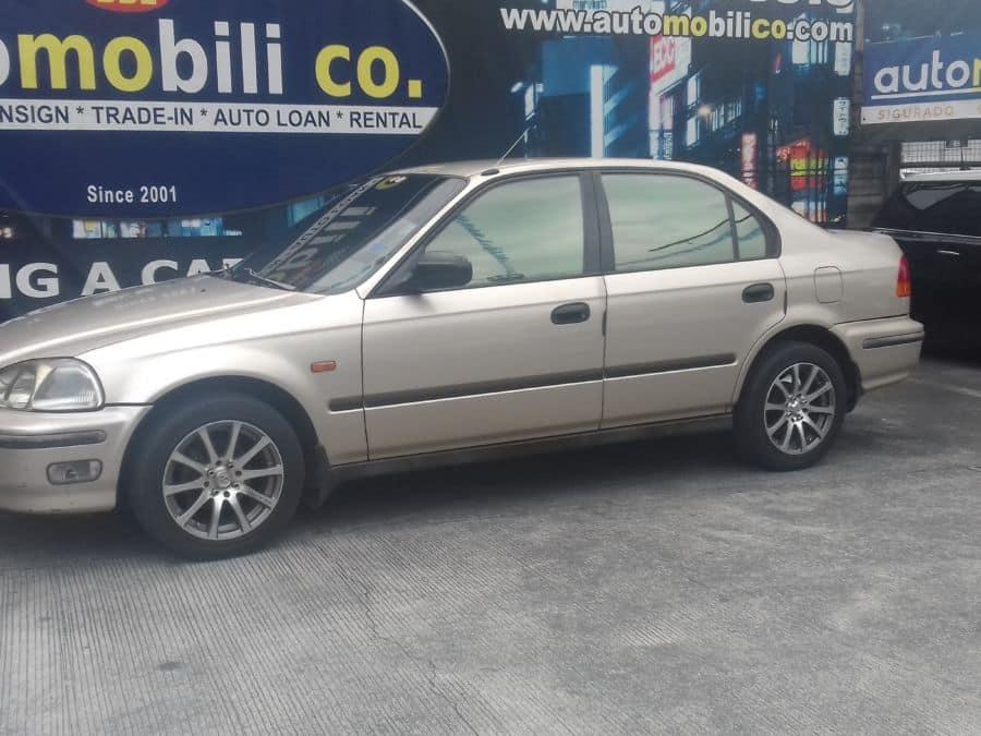 1996 Honda Civic - Left View
