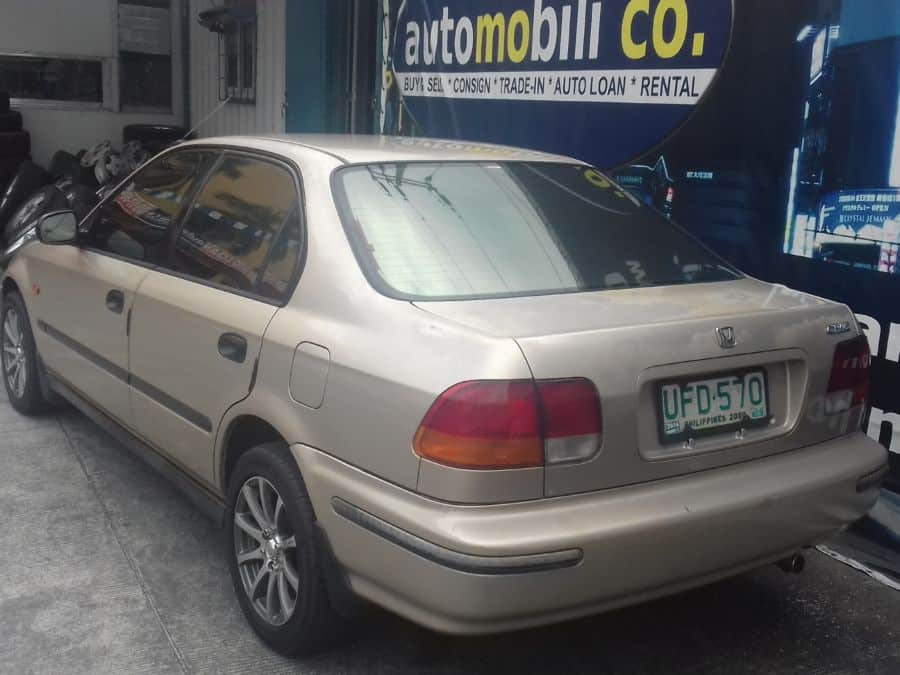 1996 Honda Civic - Rear View