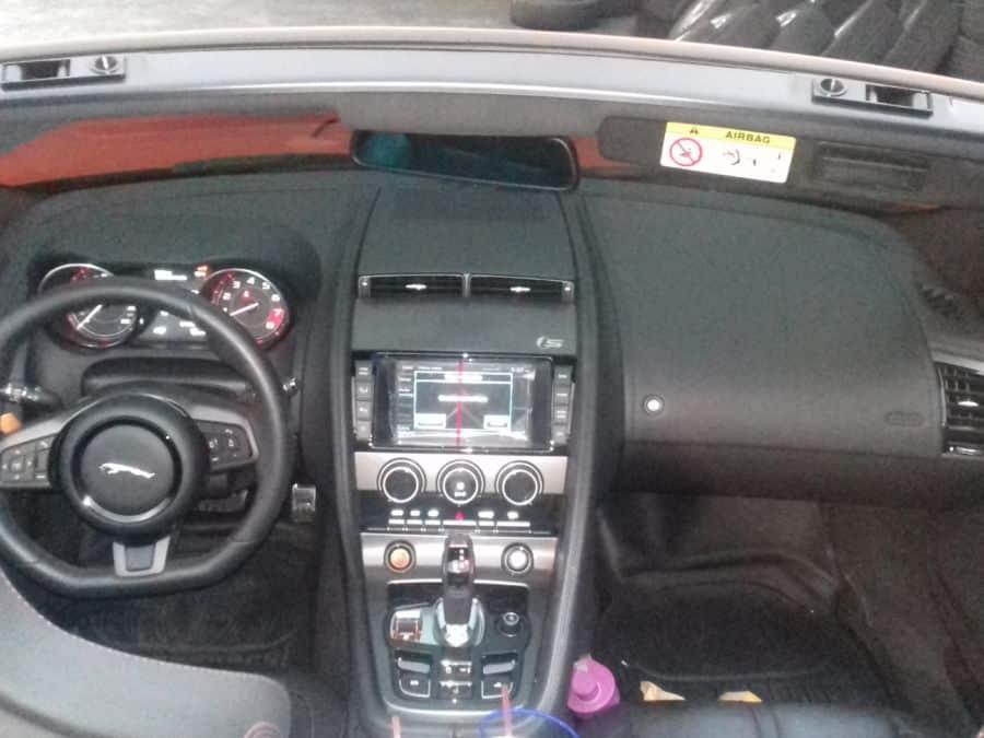 2014 Jaguar F-Type - Interior Front View