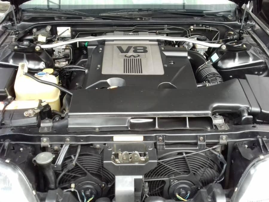 1997 Infiniti Q45 - Interior Rear View