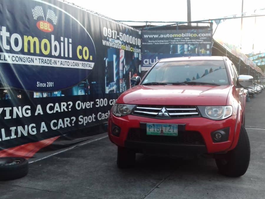 2011 Mitsubishi Strada - Front View