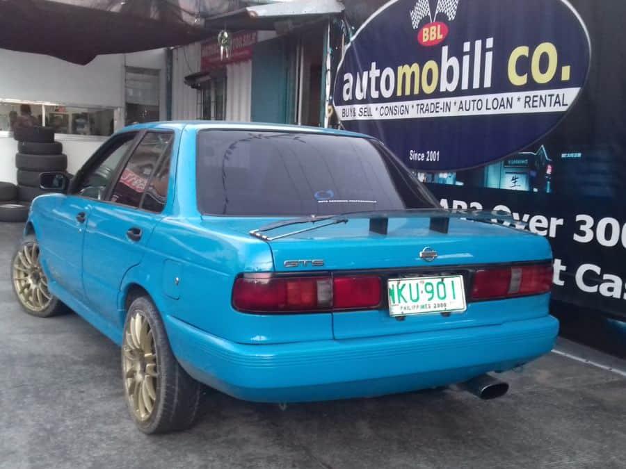 1999 Nissan Sentra - Rear View