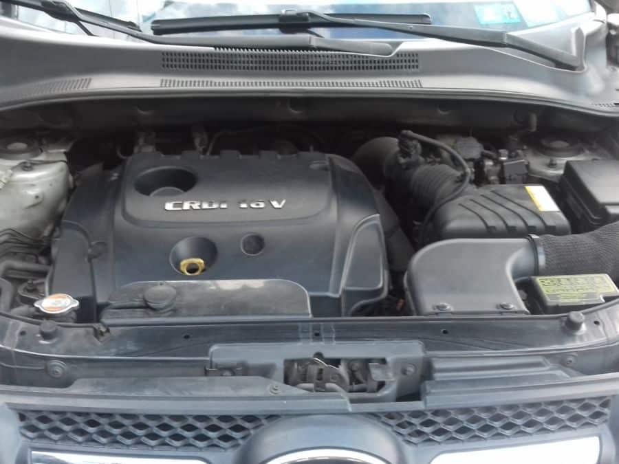 2010 Kia Sportage - Interior Rear View
