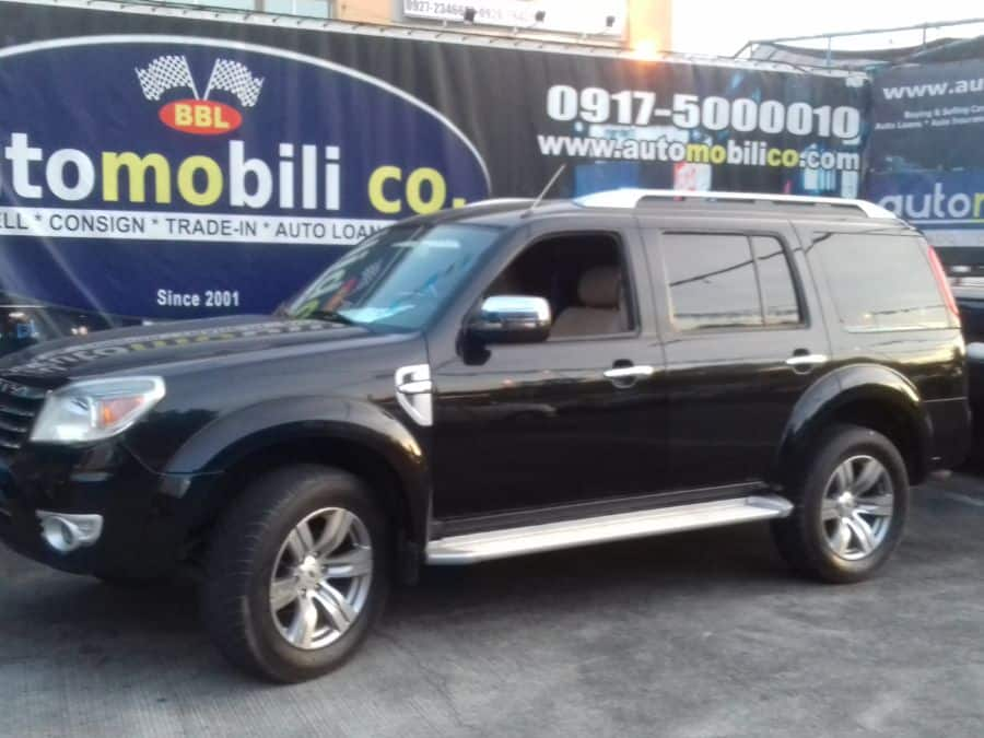2011 Ford Everest - Left View