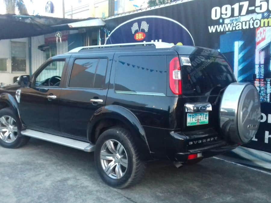 2011 Ford Everest - Rear View