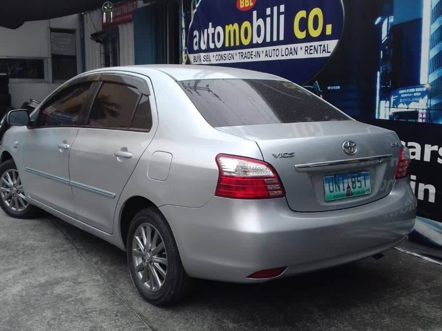 2013 Toyota Vios - Rear View