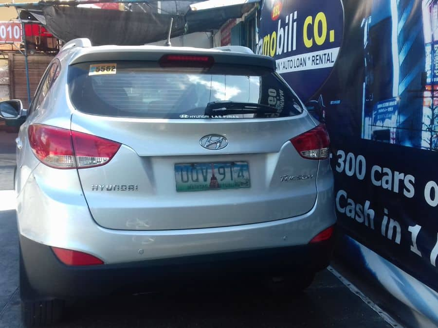 2013 Hyundai Tucson - Rear View