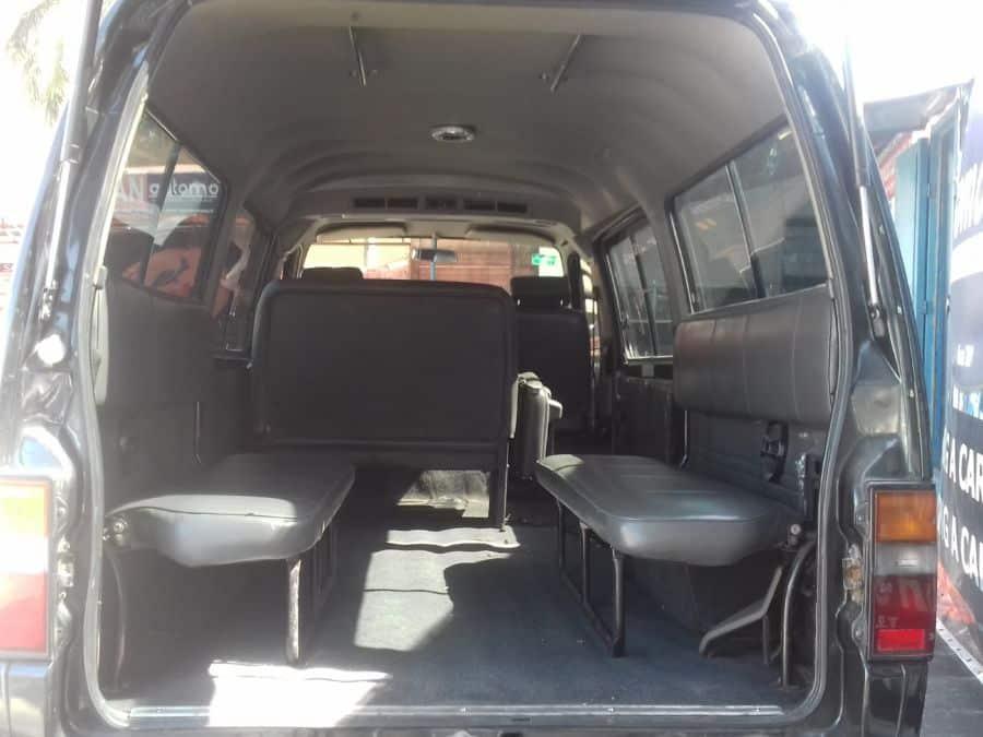 2010 Nissan Urvan - Rear View