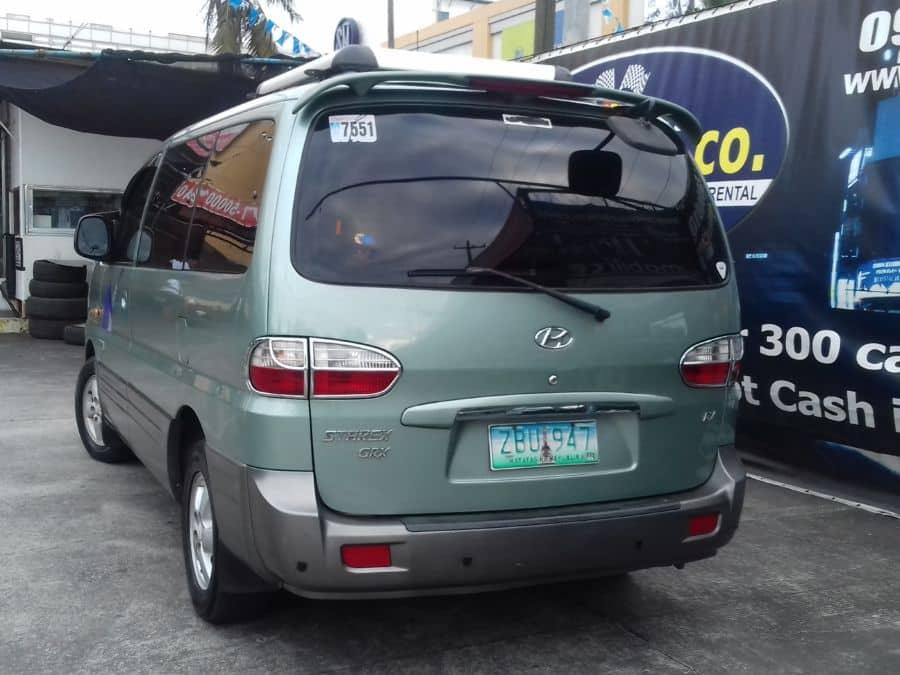 2006 Hyundai Starex - Rear View