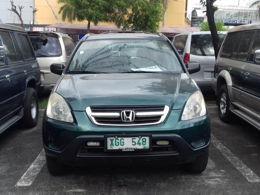 2002 Honda CR-V - Front View
