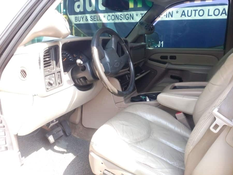 2003 Chevrolet Suburban - Interior Front View