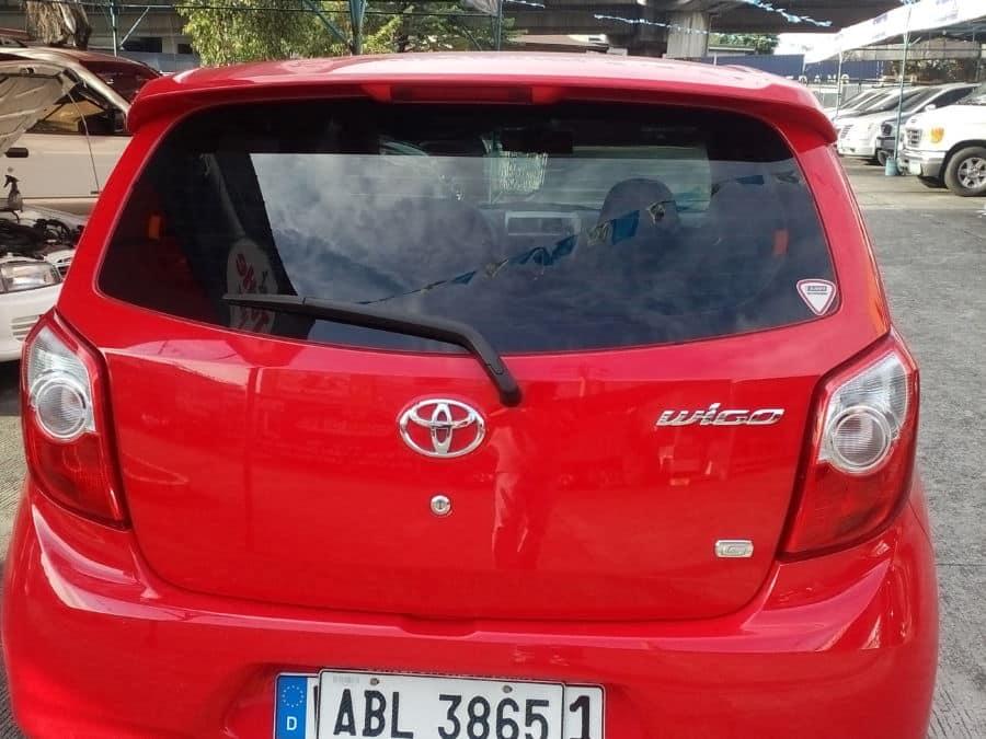 2015 Toyota Wigo - Rear View