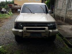 1992 Mitsubishi Pajero - Front View