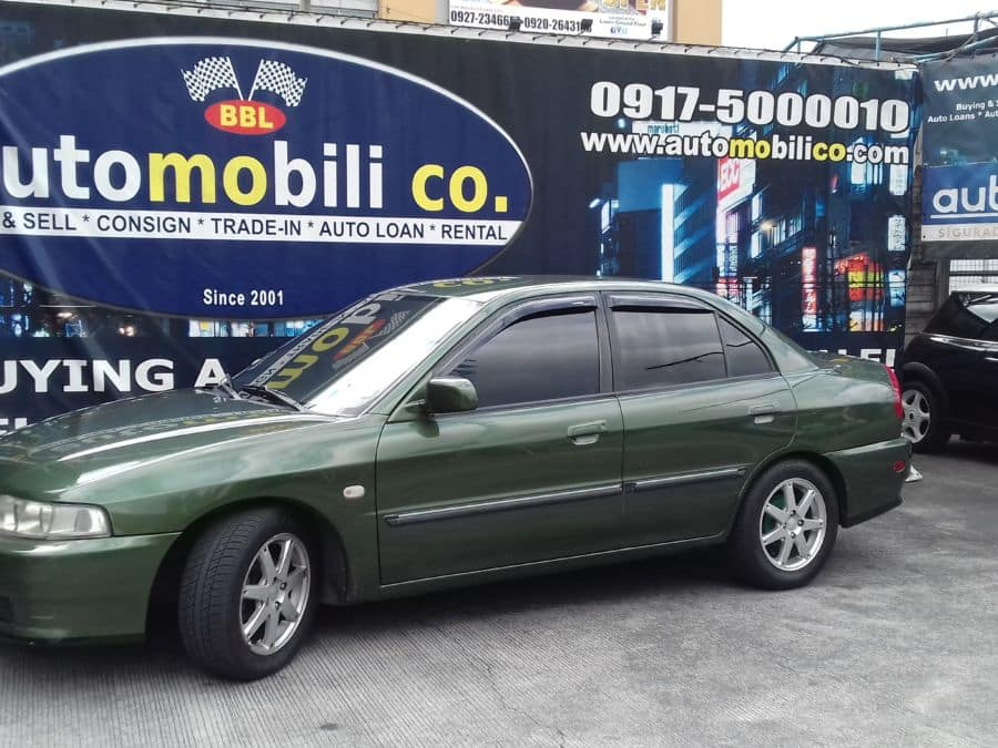 2002 Mitsubishi Lancer - Left View