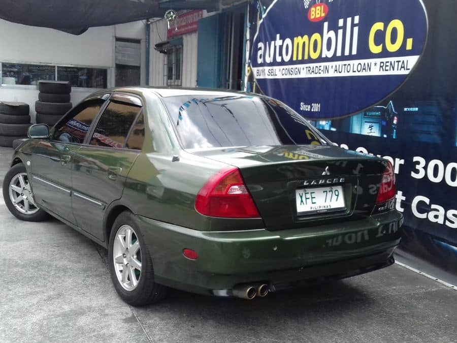 2002 Mitsubishi Lancer - Rear View