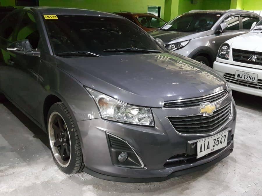 2014 Chevrolet Cruze - Left View