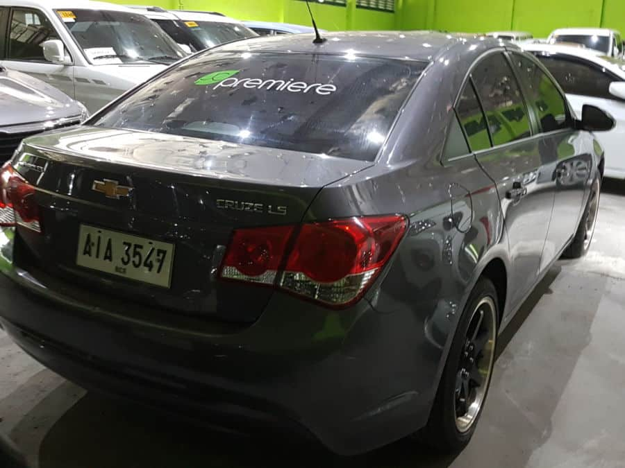 2014 Chevrolet Cruze - Rear View