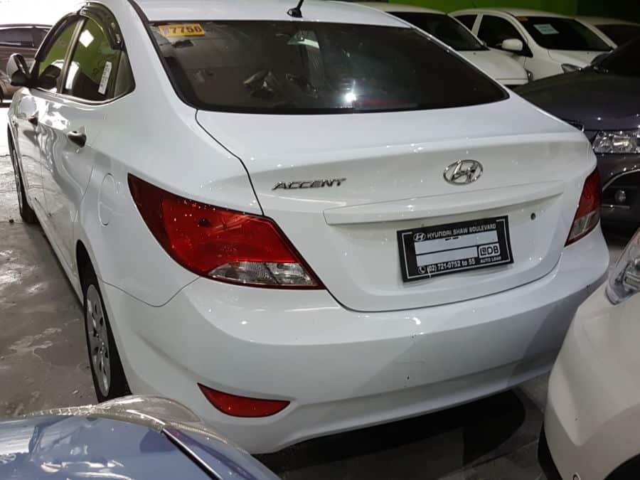 2016 Hyundai Accent - Rear View