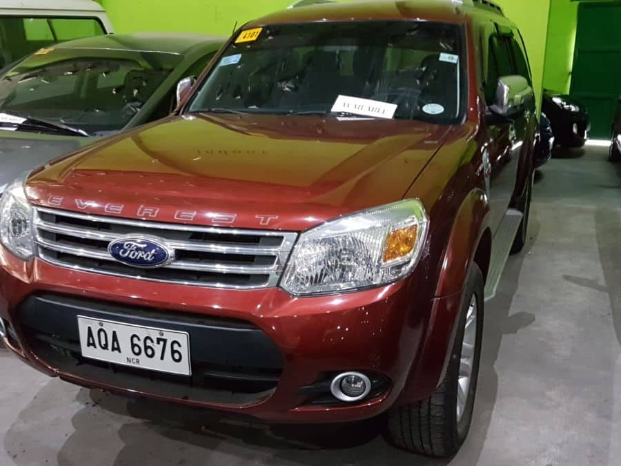 2015 Ford Everest - Front View