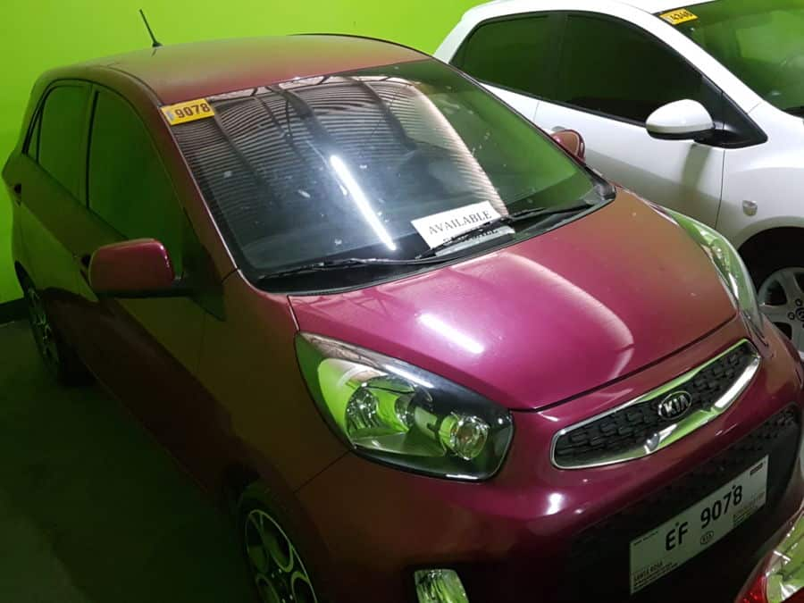 2016 Kia Picanto - Left View